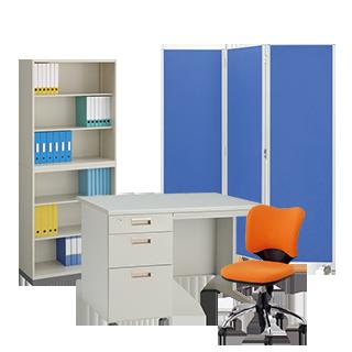 オフィス家具の不用品回収