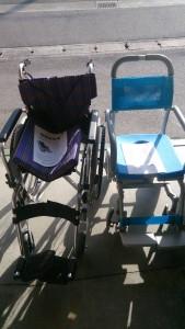 車椅子2台、美品