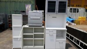 ゴミ箱、棚、水屋、食洗機