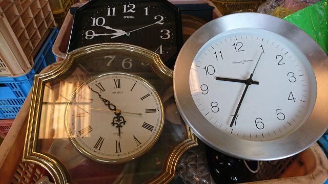 掛時計、置時計