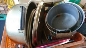 鍋類、その他キッチン用品の買取